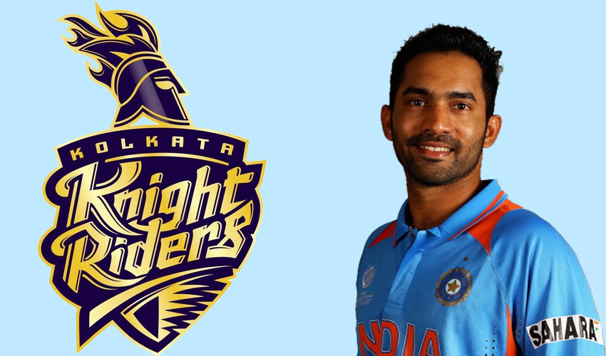 Dinesh Karthik captain of Kolkata Knight Riders