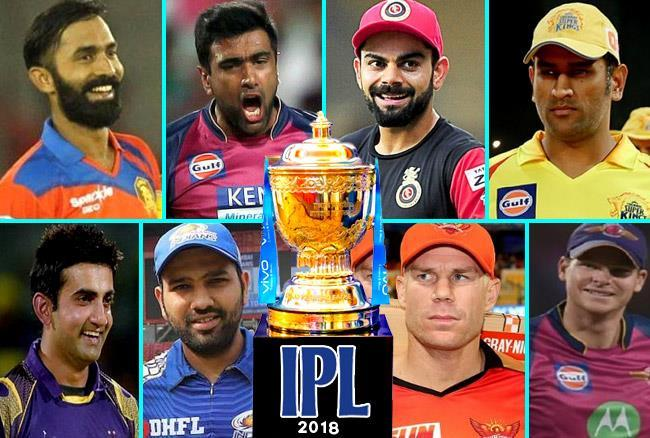 New Captains of IPL 2018