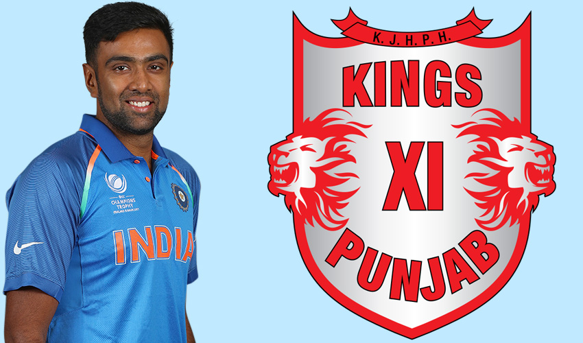 Ravichandran Ashwin captain of Kings XI Punjab