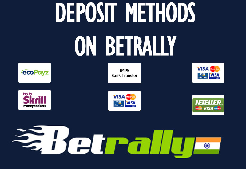Deposit Methods on Betrally
