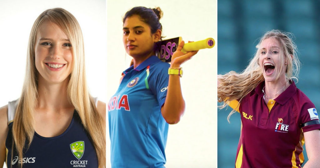 beautiful cricketers