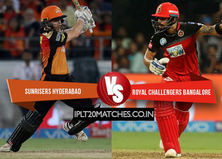 SRH bowlers did it again, restricts RCB below the target