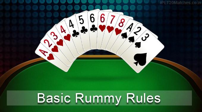 Basic Rummy Rules