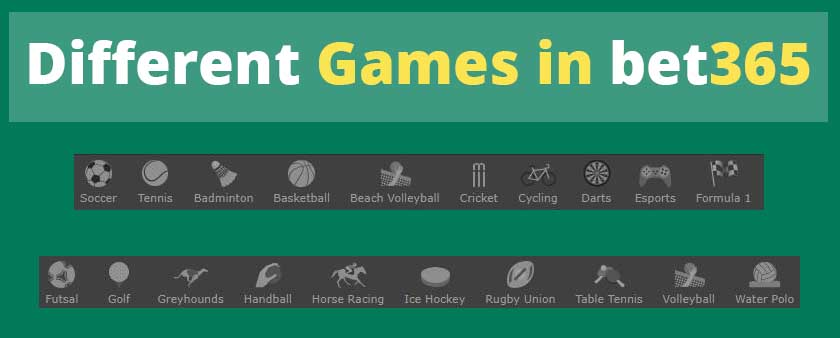Bet 365 - The Number 1 Online Gaming and Betting Website