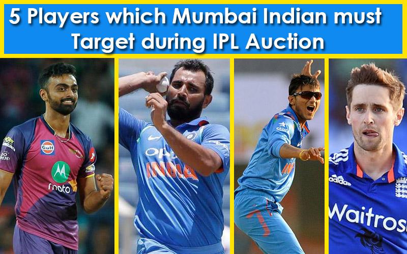 Mumbai Indian during IPL auction
