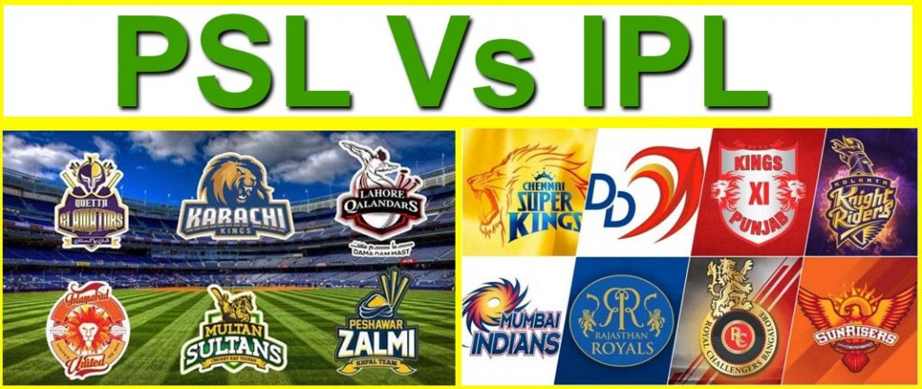 PSL vs IPL teams