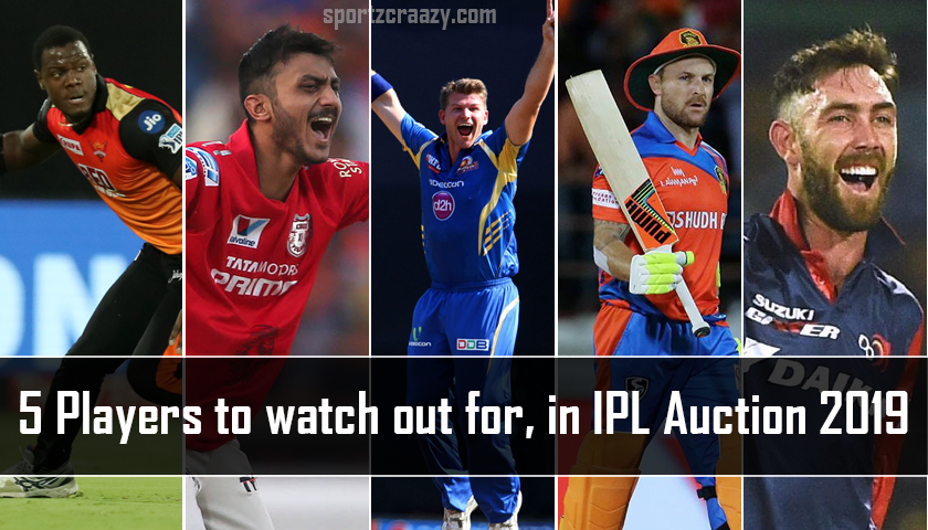 Hottest Picks in IPL 2019 Auction