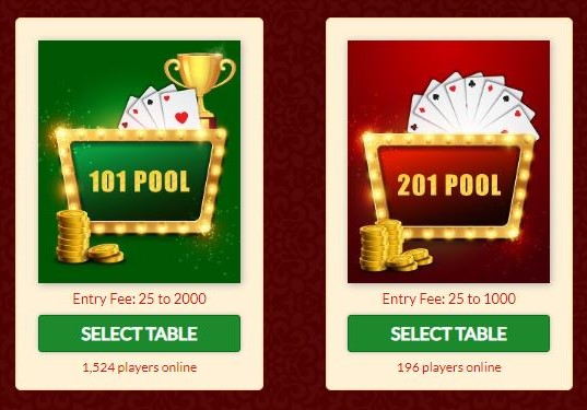 Pools Rummy