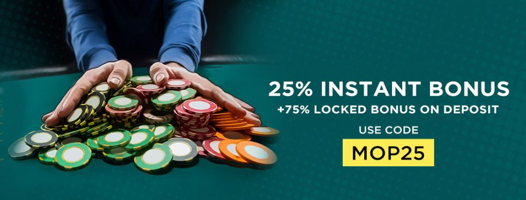 Promotions and offers at Mad Over Poker