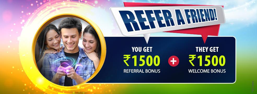 Refer a friend bonus offer