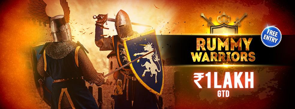 Rummy warrior's tournament