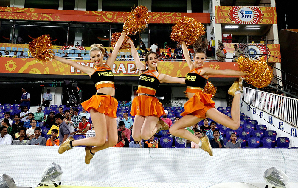 Sunrisers Hyderabad Cheerleaders