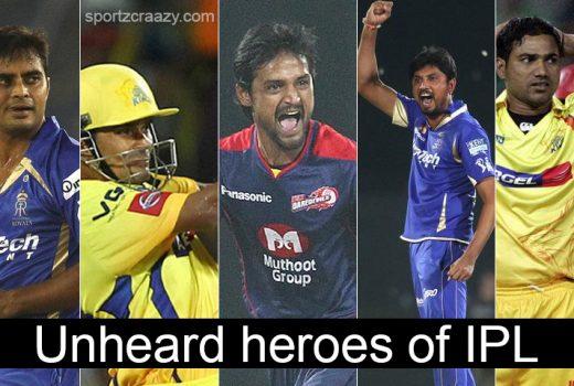 Unheard Heroes 0f IPL