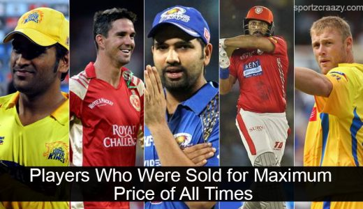 Players Who Were Sold for Maximum Price of All Times