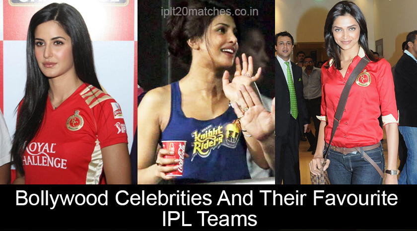 Bollywood Celebrities And Their Favourite IPL Teams