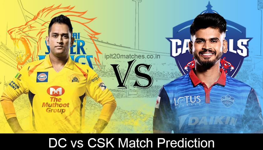DC vs CSK Match Prediction