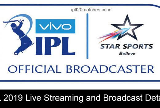 IPL 2019 Live Streaming