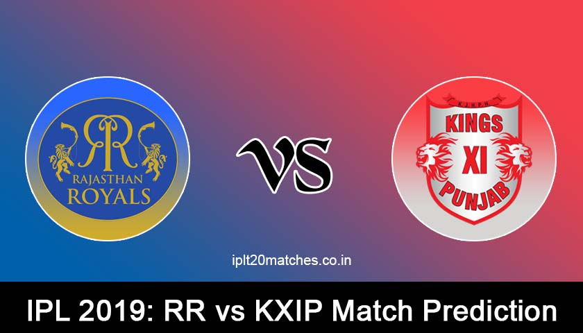 RR VS KXIP MATCH PREDICTION