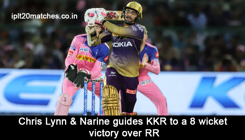 KKR Vs RR Match Summary
