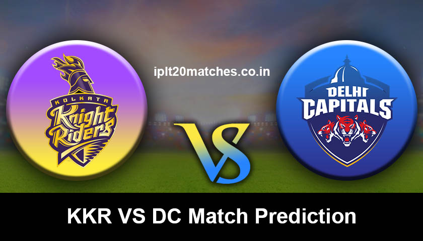 KKR VS DC Match Prediction