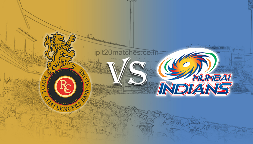 MI vs RCB Dream 11 Prediction