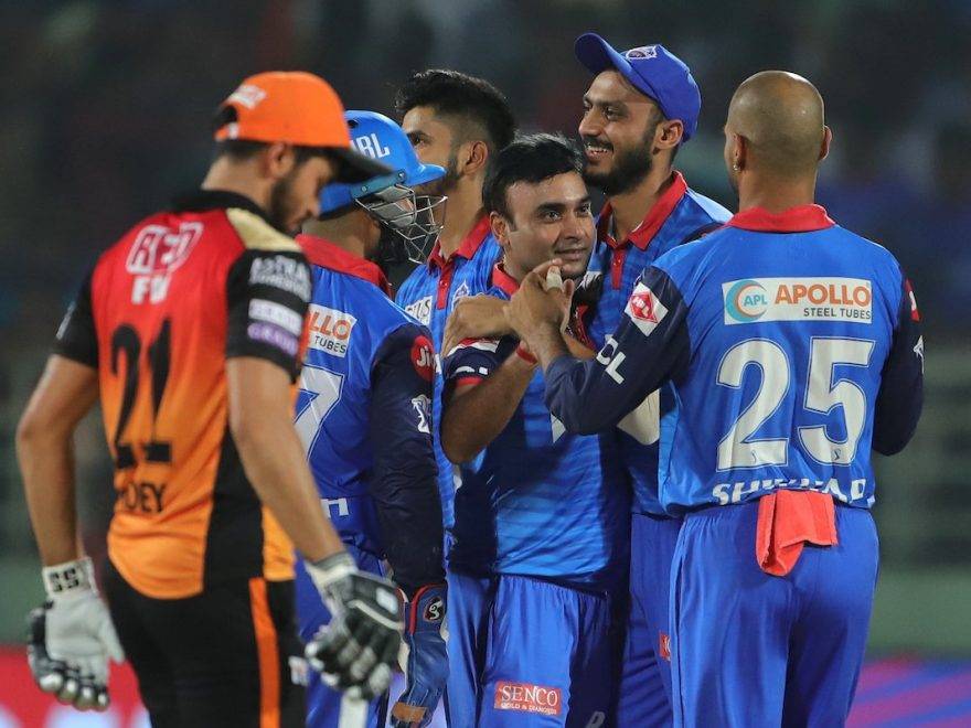 DC vs SRH Eliminator Match Summary
