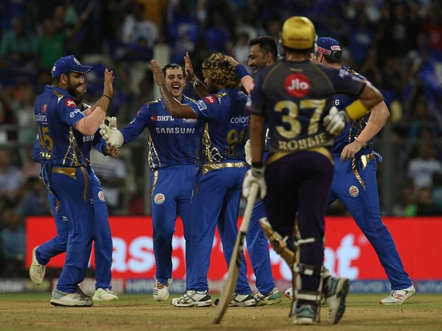 kkr vs mi match summary