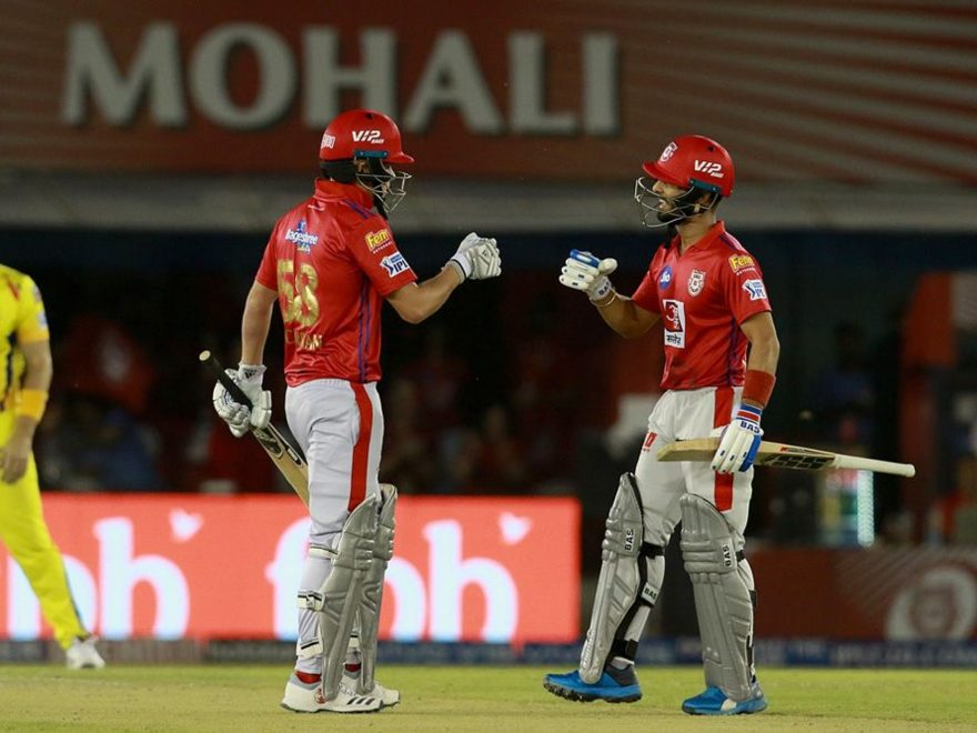 kxip vs csk match summary
