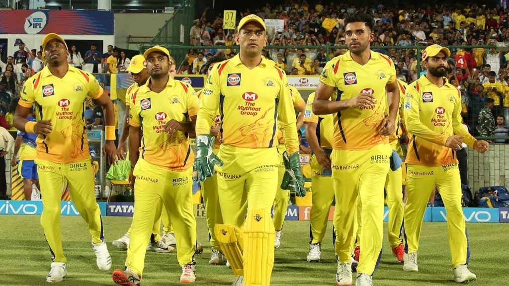 Chennai super kings Teams