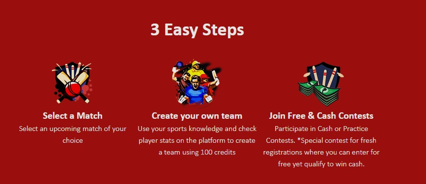 steps to play my11cricle